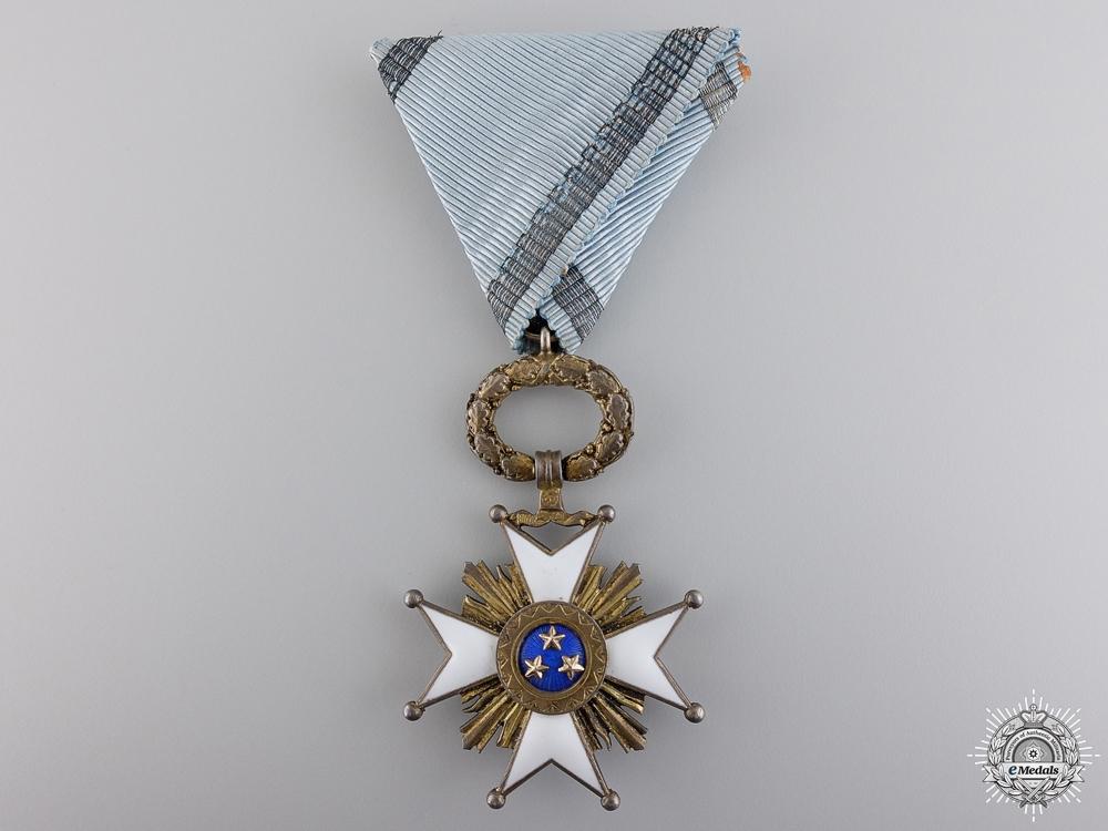 A Latvian Order of the Three Stars; Knight's Breast Badge