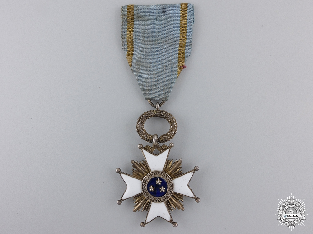 A Latvian Order of the Three Stars; Fifth Class