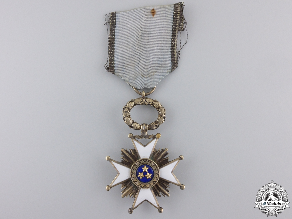 A Latvian Order of the Three Stars; 5th Class Knight