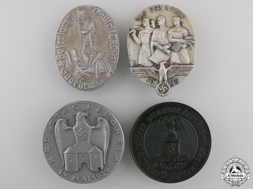 A Lot of Four Second War German Tinnies