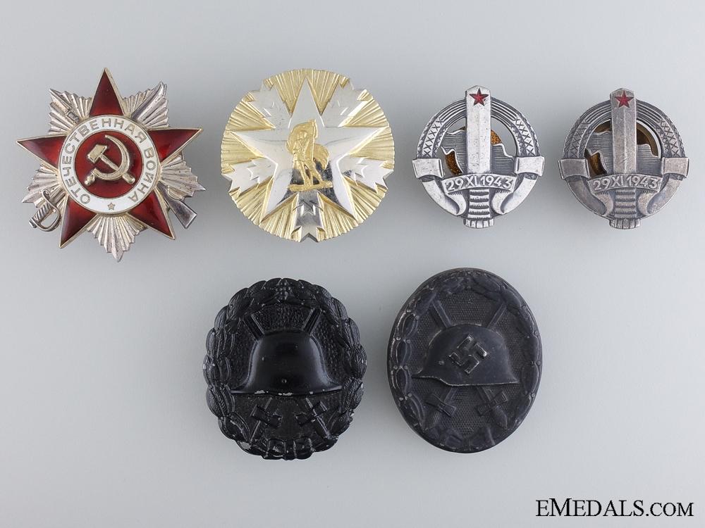 A Lot of Six European Awards & Badges