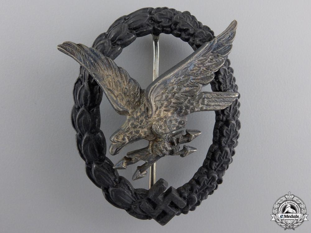 A Luftwaffe Air Radio Operator & Air Gunner Badge by Imme & Sohn