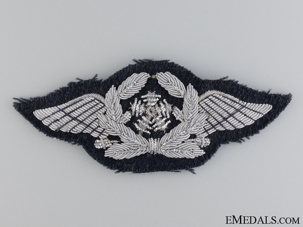 A Luftwaffe Aircraft Technical Personnel; Officer's Insignia