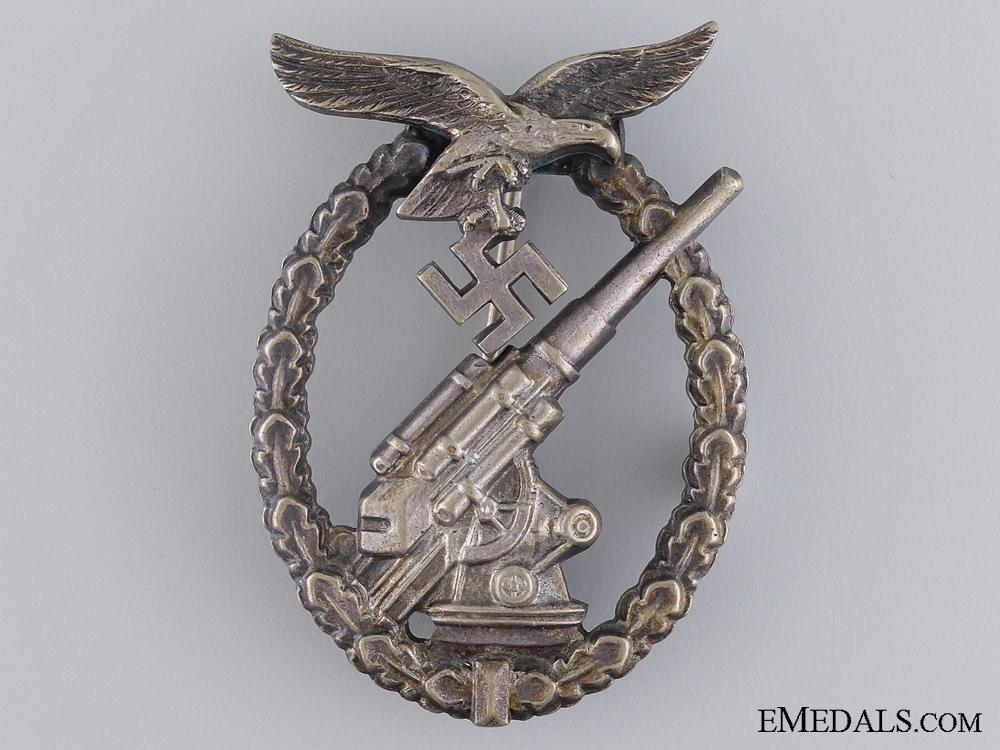 A Luftwaffe Flak Badge by Juncker