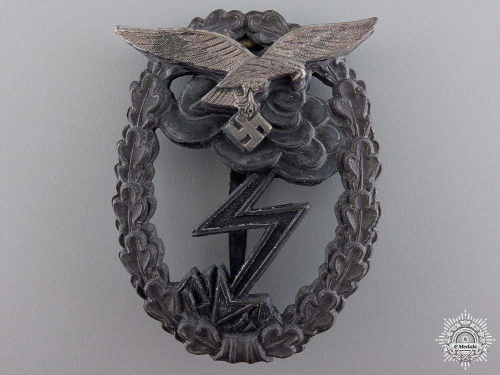 A Luftwaffe Ground Assault Badge by M.u.K. 5