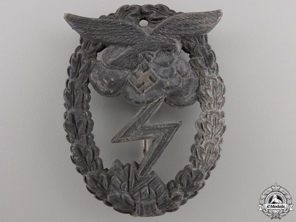 A Luftwaffe Ground Assault Badge