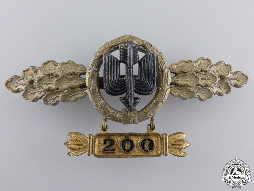 A Long Range Day Fighter Destroyer Squadron Clasp by G.H. Osang