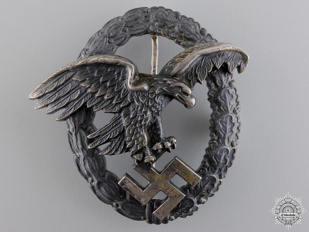 A Luftwaffe Observers Badge by Assmannn