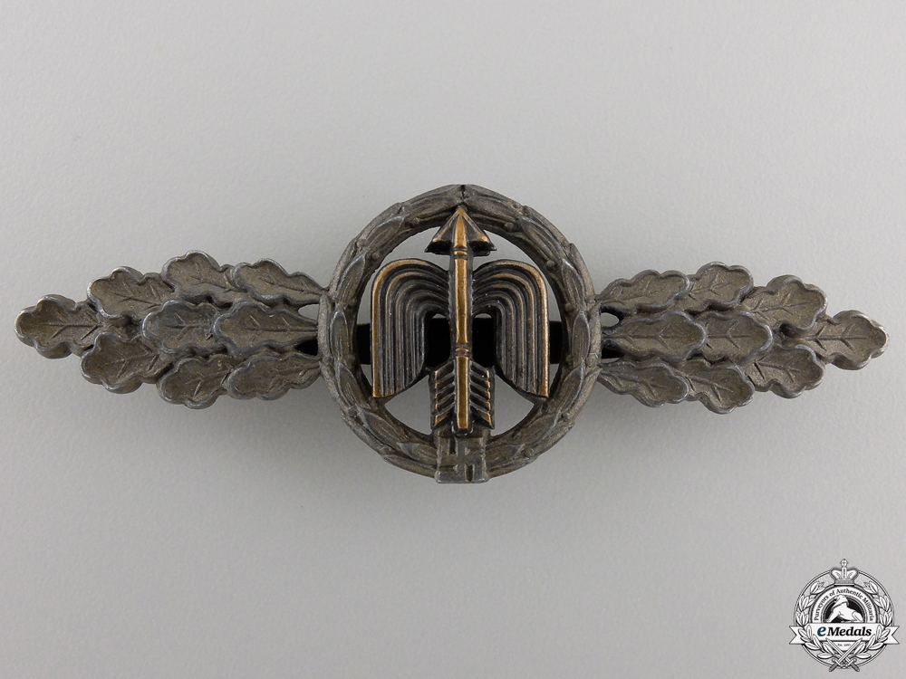 A Luftwaffe Short Range Day Fighter Clasp by G.H. Osang