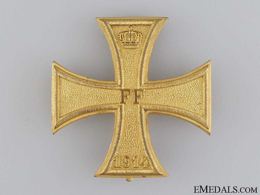 A Mecklenburg-Schwerin Military Merit Cross 1914; 1st Class