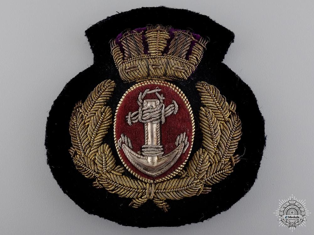 A Merchant Navy Officer's Cap Badge