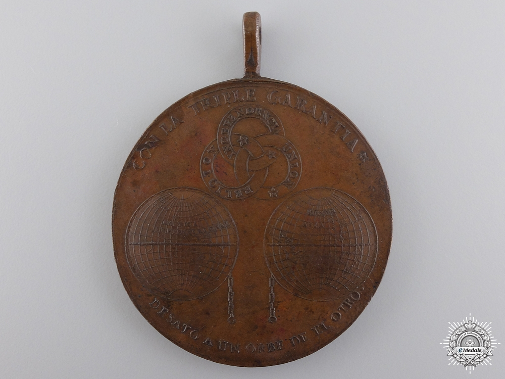 A Mexican War of Independence Medal