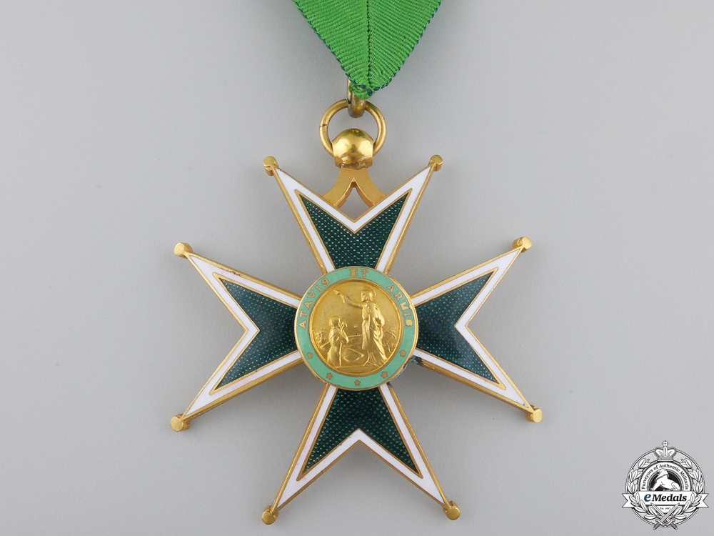 A Military and Hospitaller Order of Saint Lazarus of Jerusalem; Neck Badge