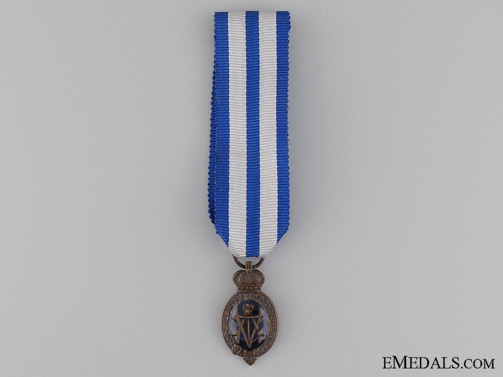 A Miniature Albert Medal; 2nd Class Sea Service