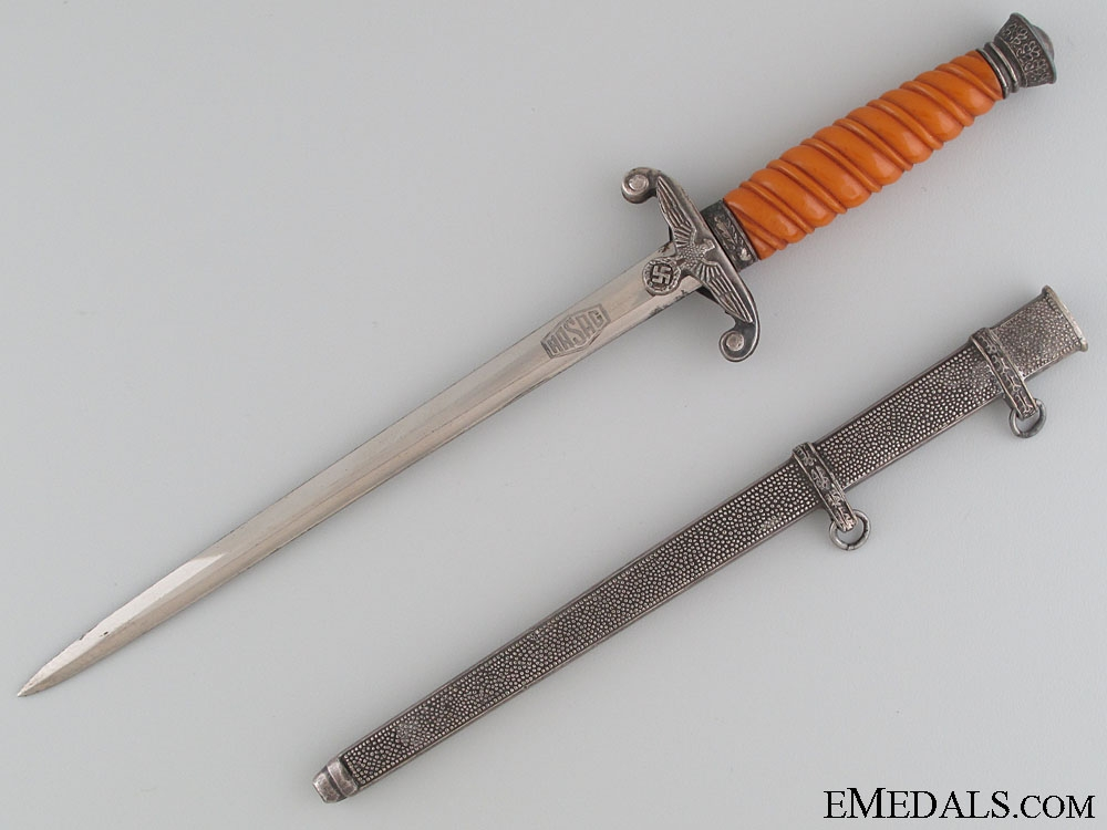 A Miniature Army Dagger by E. & F. HORSTER