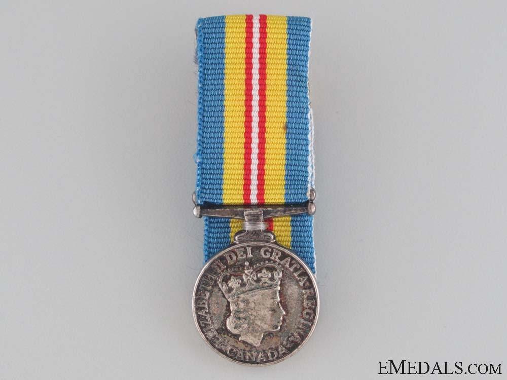 A Miniature Canadian Korea Medal 1954