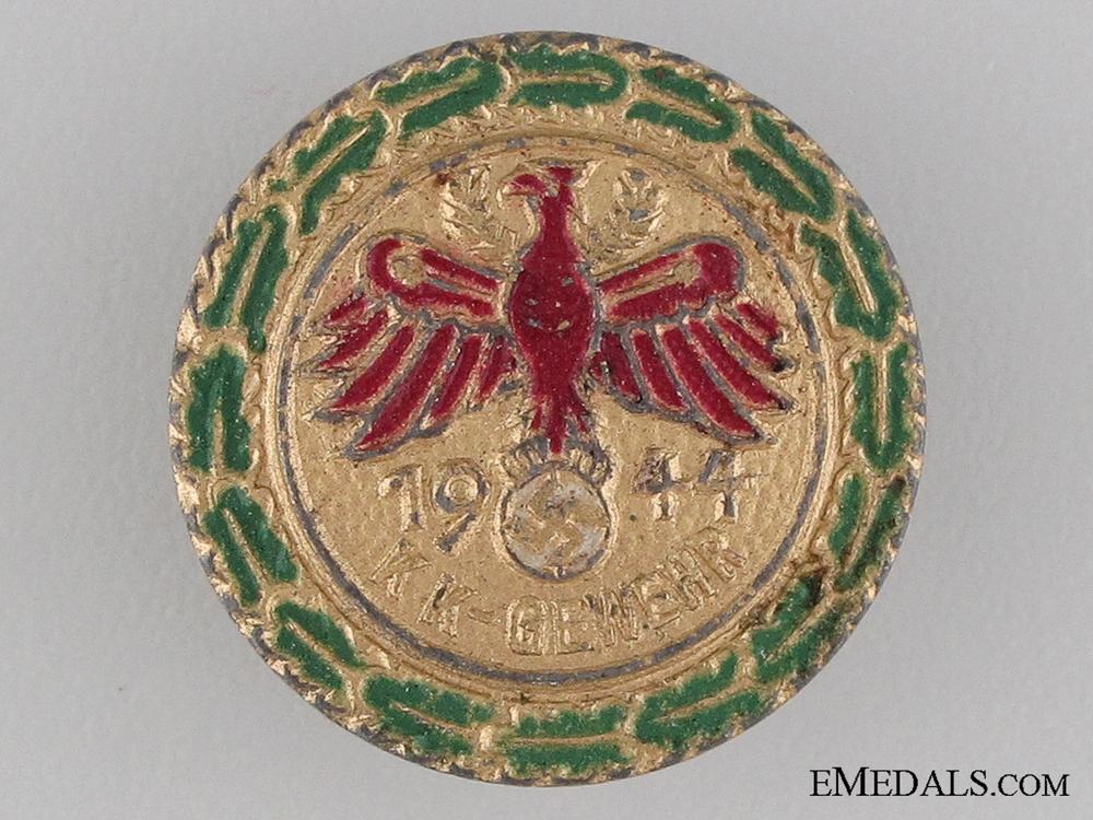A Miniature German 1944 Shooting Award