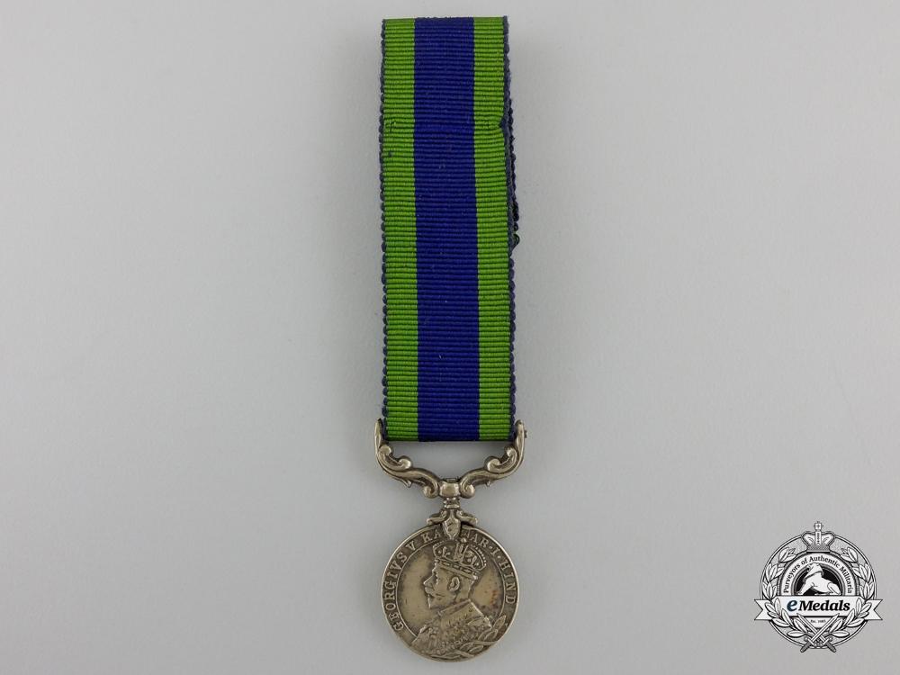 A Miniature India General Service Medal 1908-1935