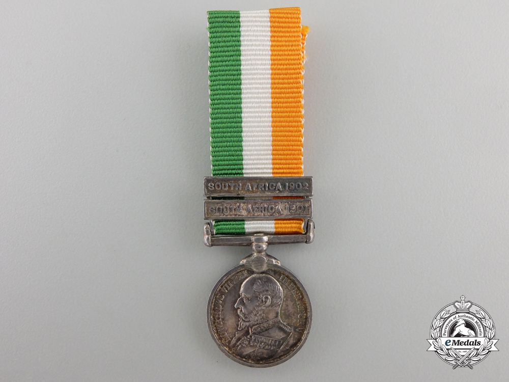 A Miniature King's South Africa Medal