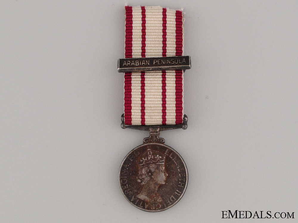 A Miniature Naval General Service Medal