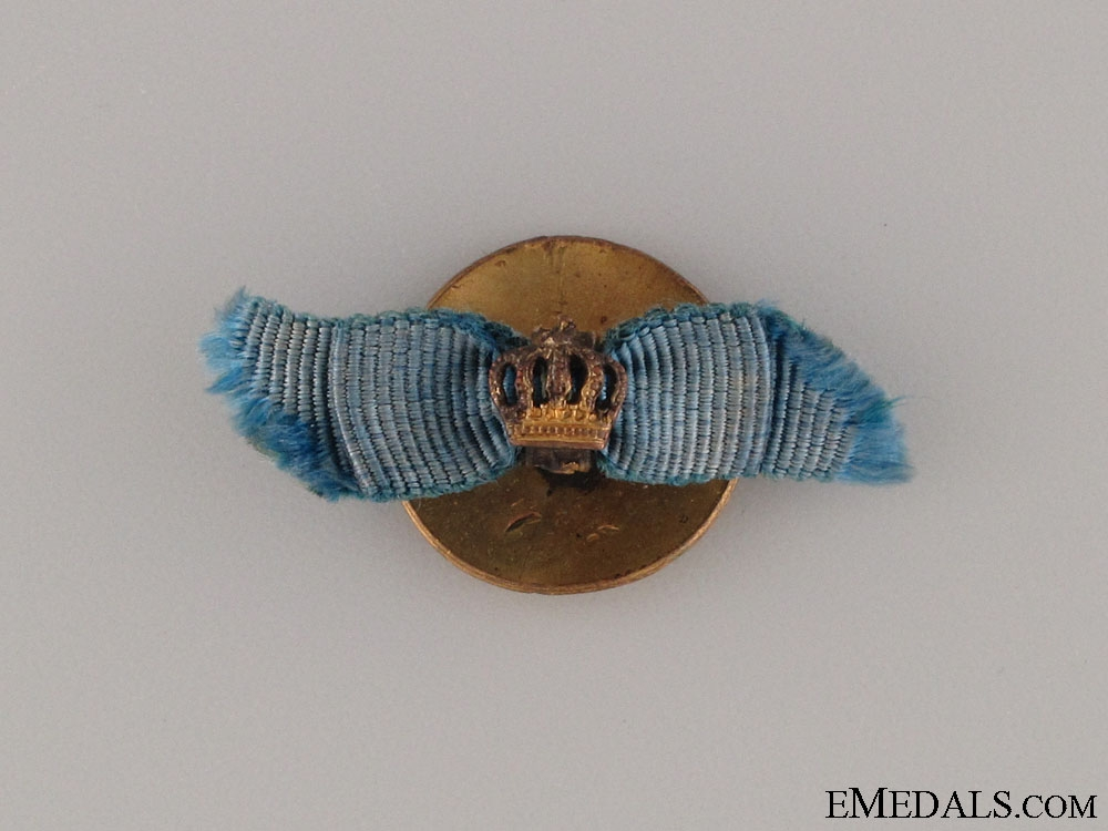 A Miniature Order of the Crown by Godet