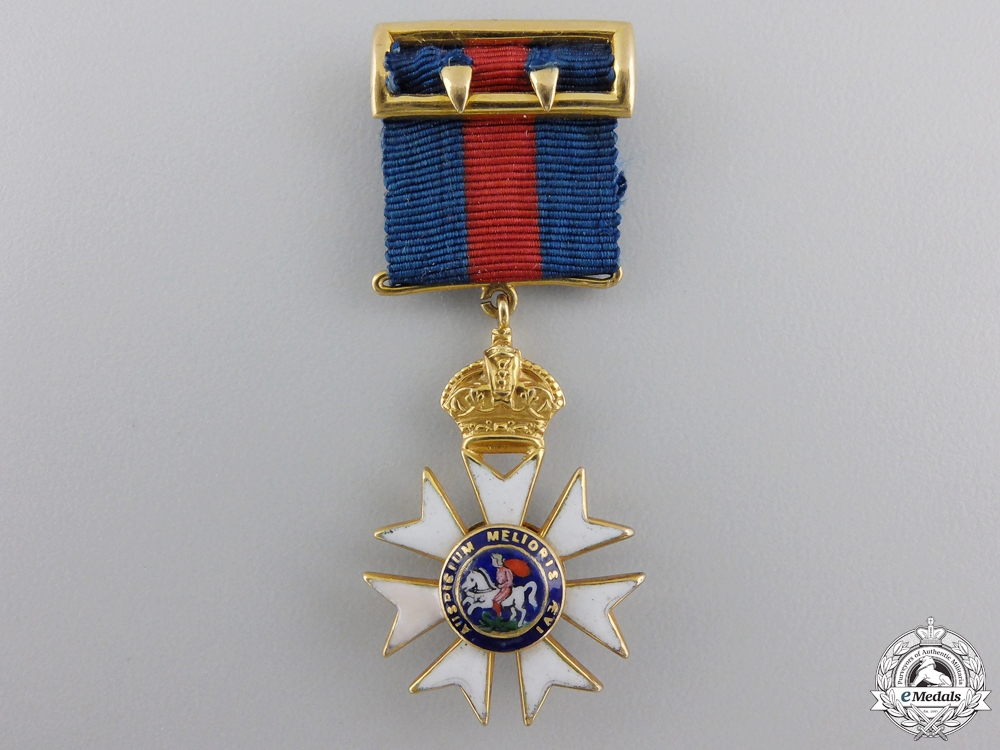 United Kingdom. A Miniature Order of St. Michael and St. George in Gold