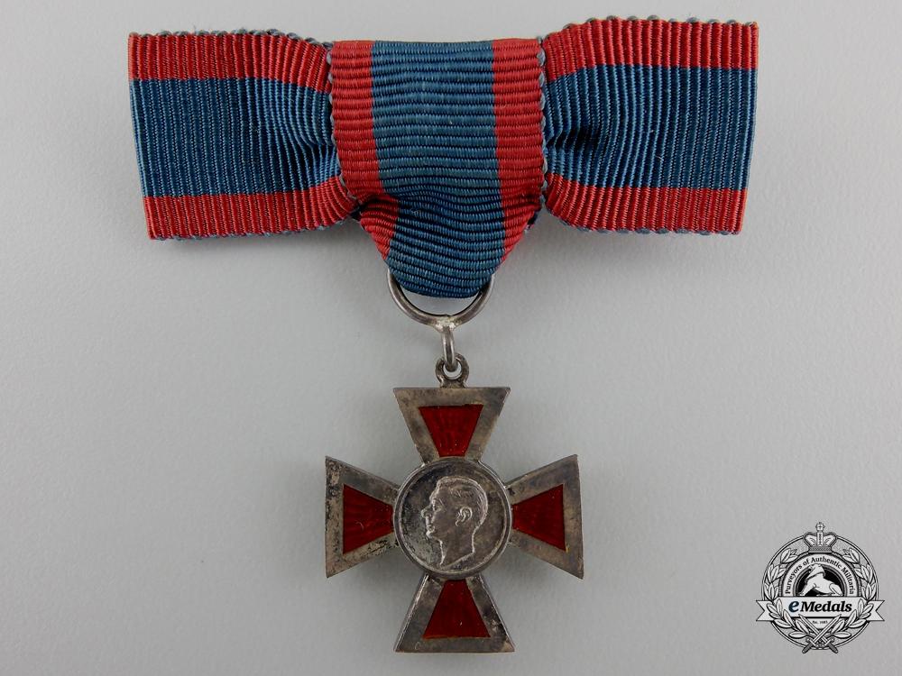A Miniature Royal Red Cross; 2nd Class