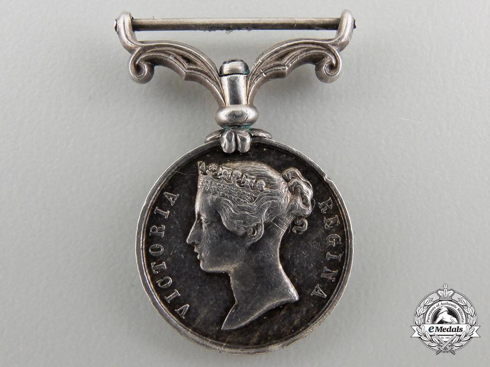 A Miniature Second China War Medal 1857-1860