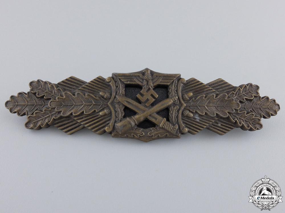 A Mint Bronze Grade Close Combat Clasp by  Fec. W.E.Peekhaus