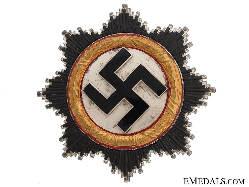 A Mint German Cross in Gold by Zimmermann