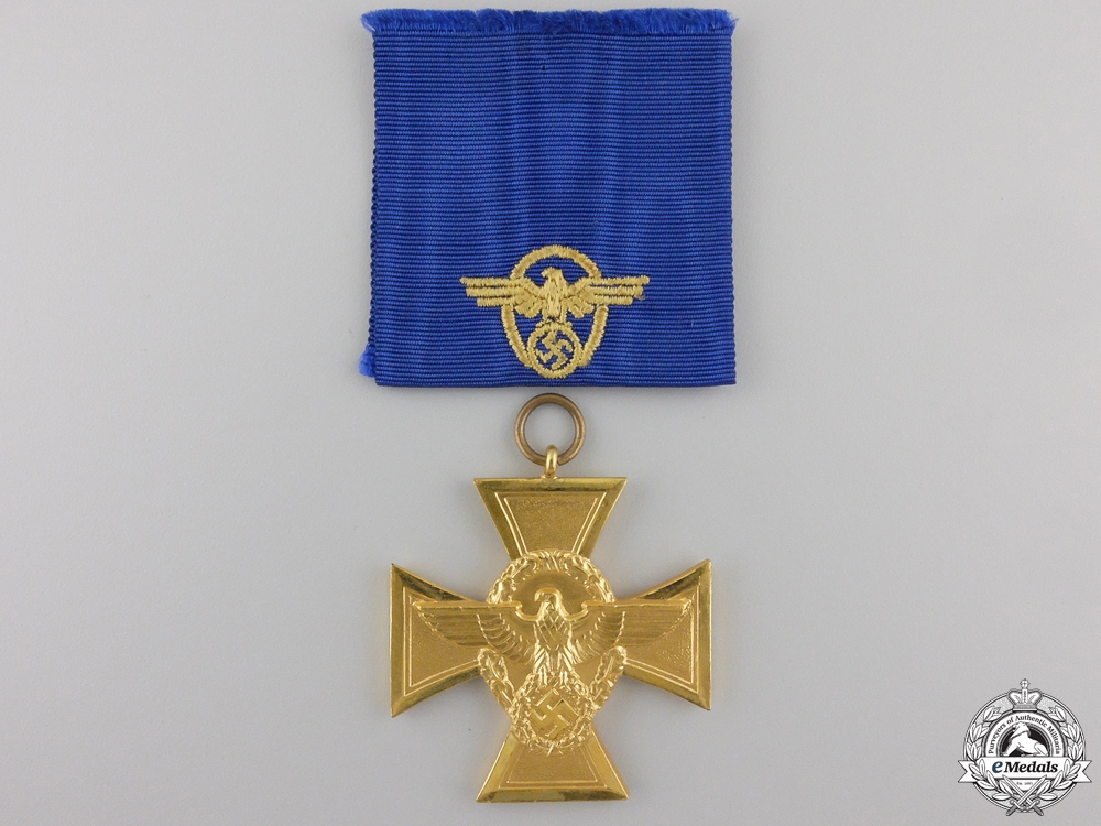 A Mint German Police Long Service Award