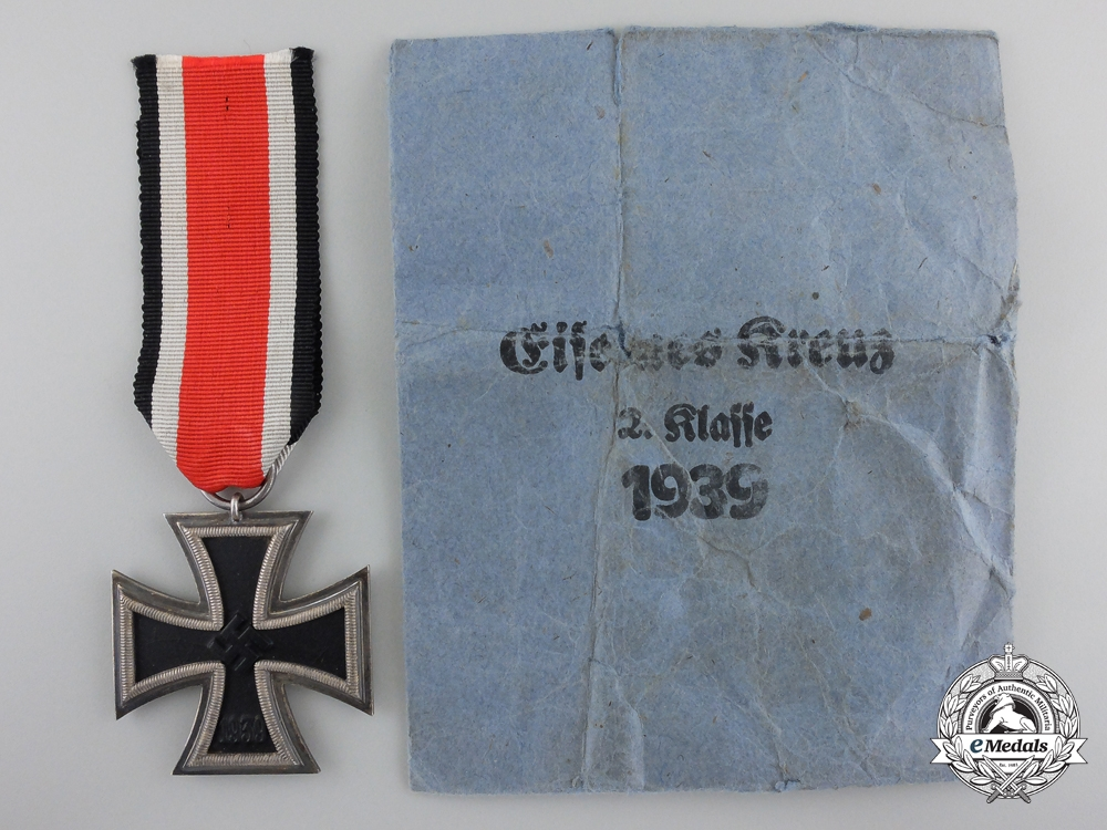 A Mint Iron Cross Second Class 1939 by Fritz Zimmermann