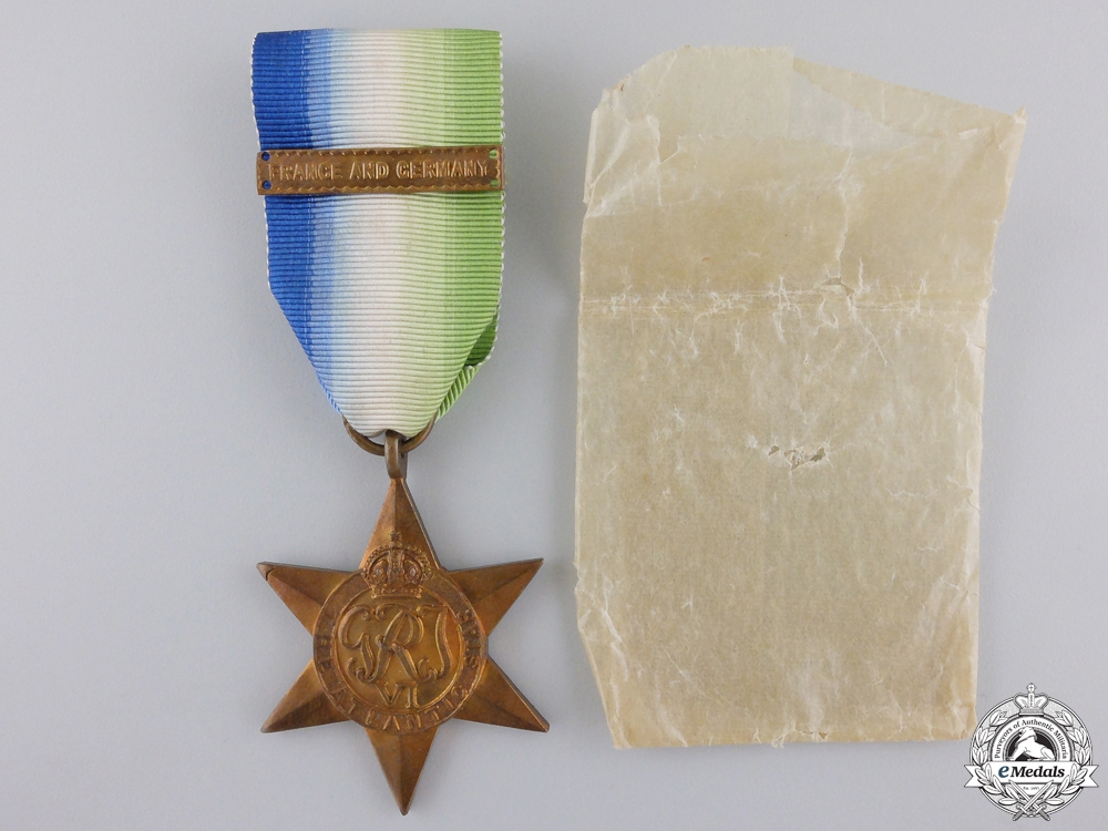 A Mint Second War Atlantic Campaign Star with Clasp