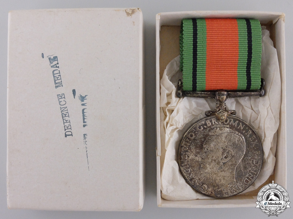 A Mint Second War Defence Medal; Canadian Issue