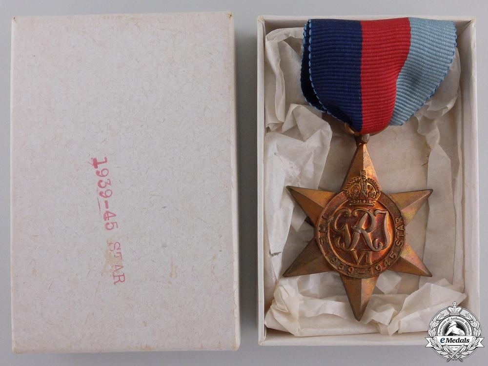 A Mint Second War 1939-1945 Campaign Star