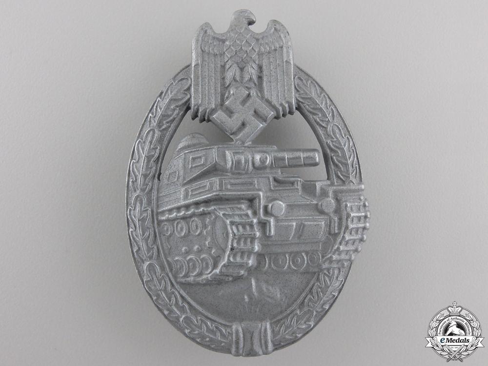 A Mint Silver Grade Tank Assault Badge