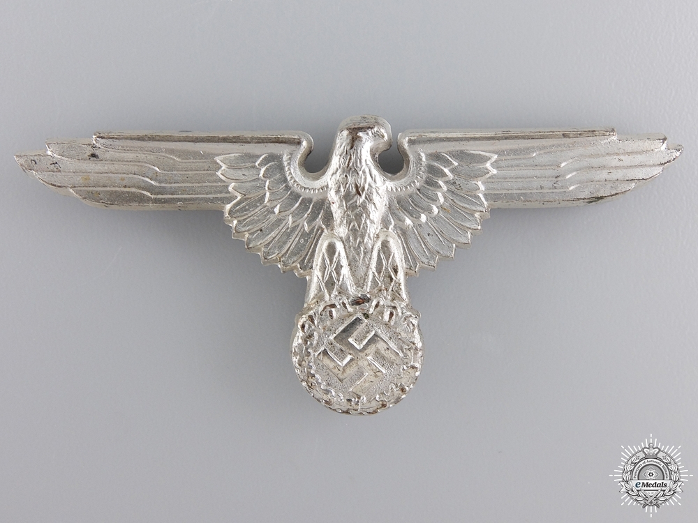 "A Mint SS Visor Cap Eagle by ""RZM M1/8"""