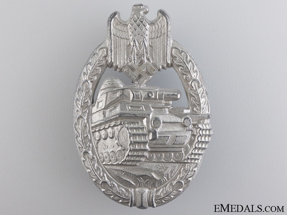 A Mint Tank Badge; Silver Grade