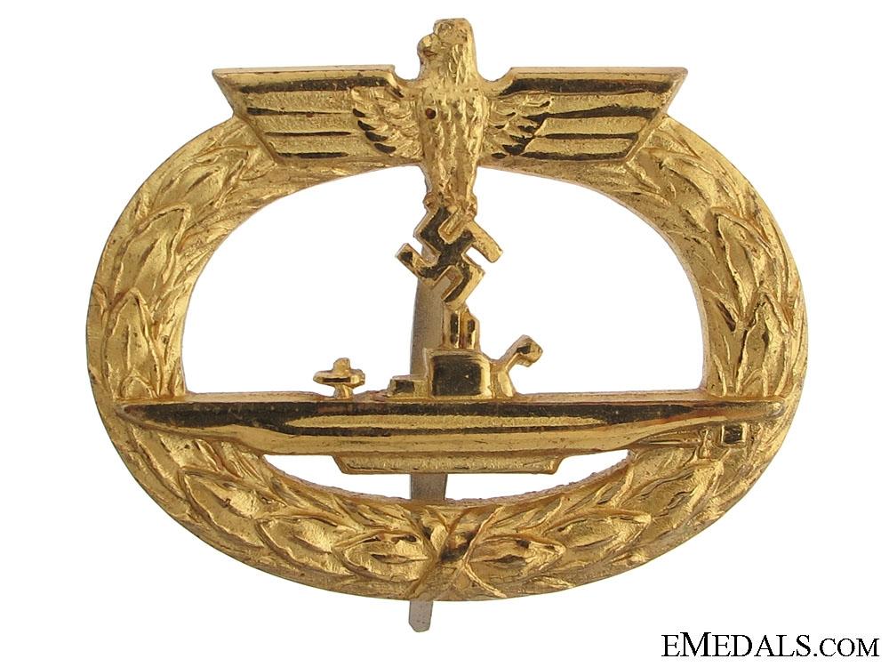 A Mint U-Boat War Badge
