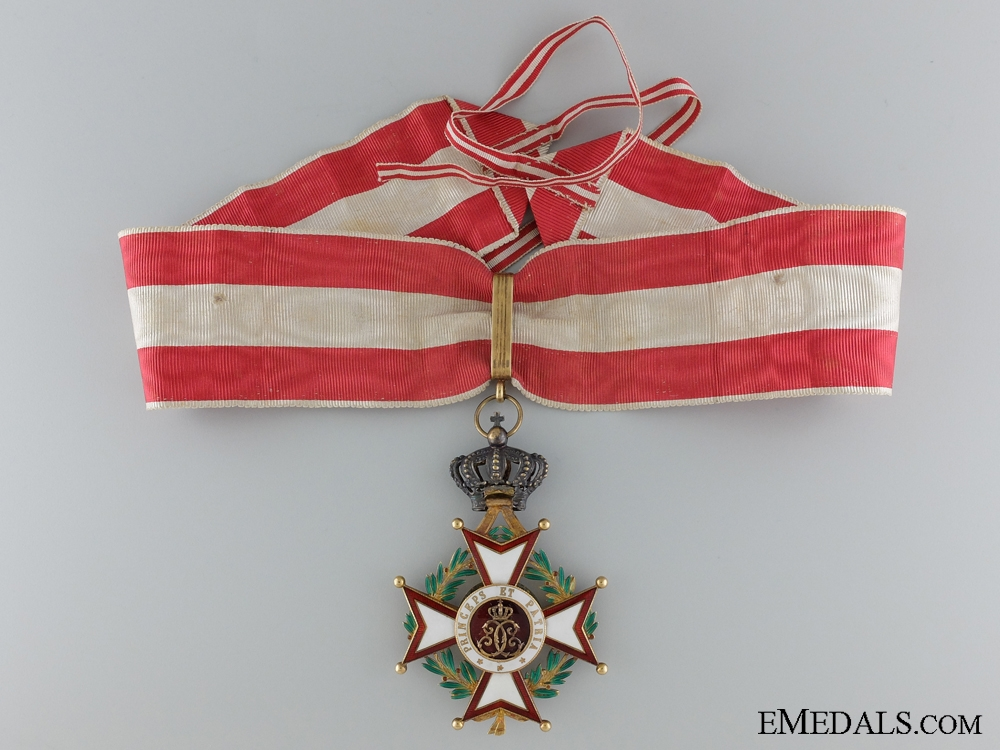 A French Made Monacan Order of St. Charles; Commander