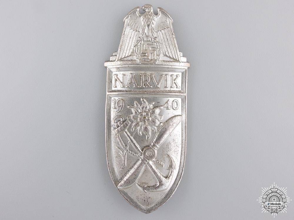 A Narvik Shield; Silver Grade