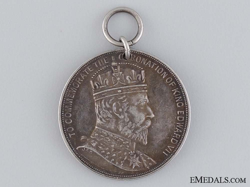 A Natal Coronation Medal for Local Officials 1902