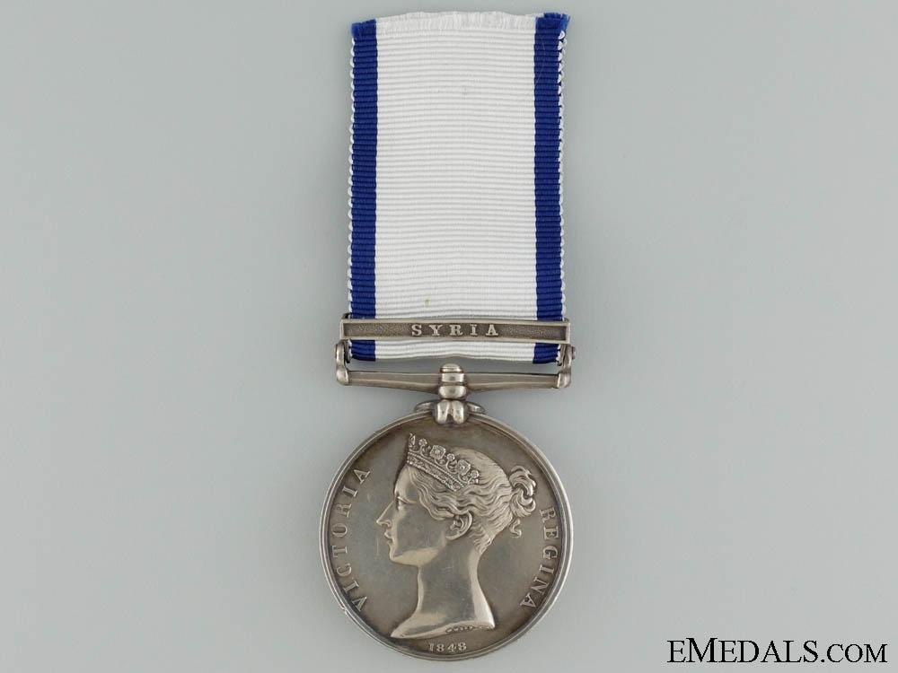 Naval General Service Medal to Royal Marine Boden; HMS Bellerophon