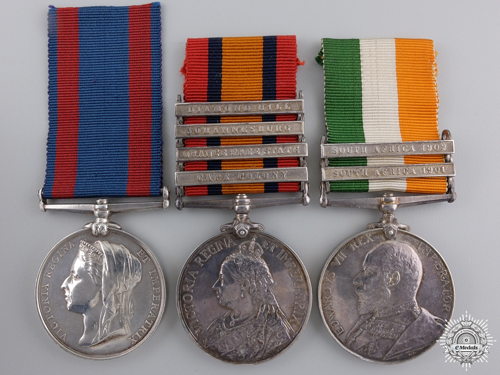 A North West Mounted Police Medal Group to George A. Faddy