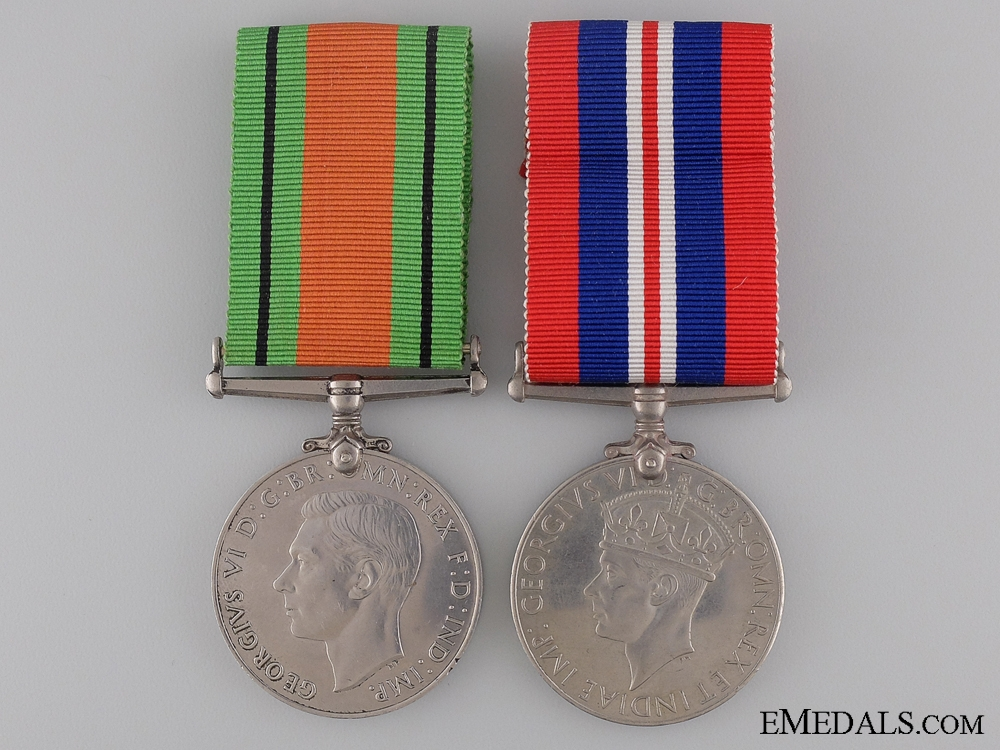 A Pair of British Second War Medals