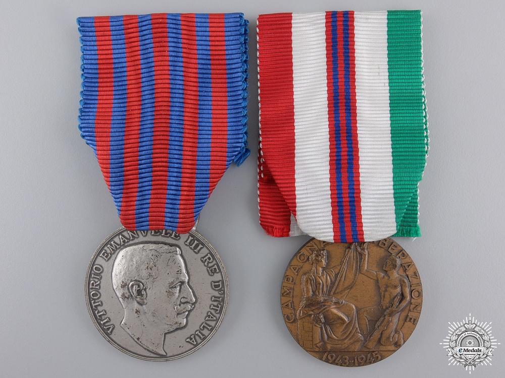 A Pair of Italian Commemorative Medals