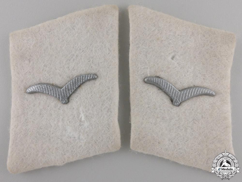 A Pair of Luftwaffe Collar Tabs; Division 'Hermann Göring'