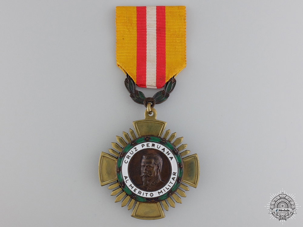 A Peruvian Military Merit Cross