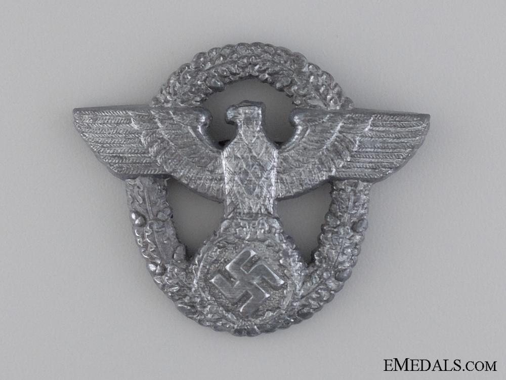 A Police Cap Badge by Friedrich Linden, Lüdenscheid