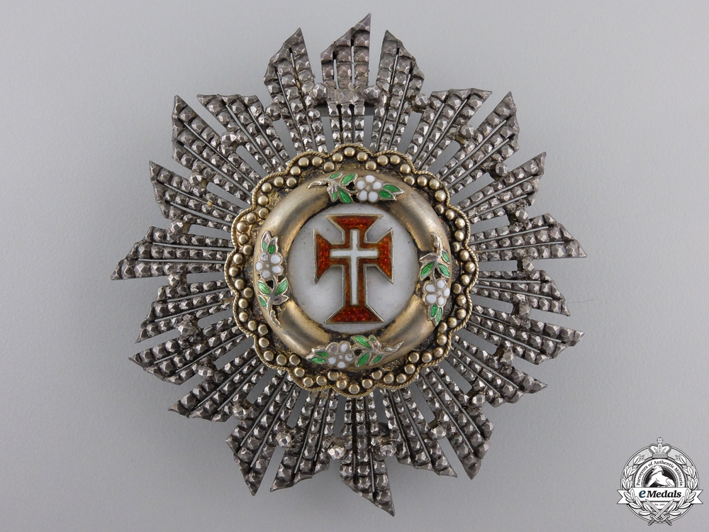 Portugal. A Portuguese Military Order of the Christ